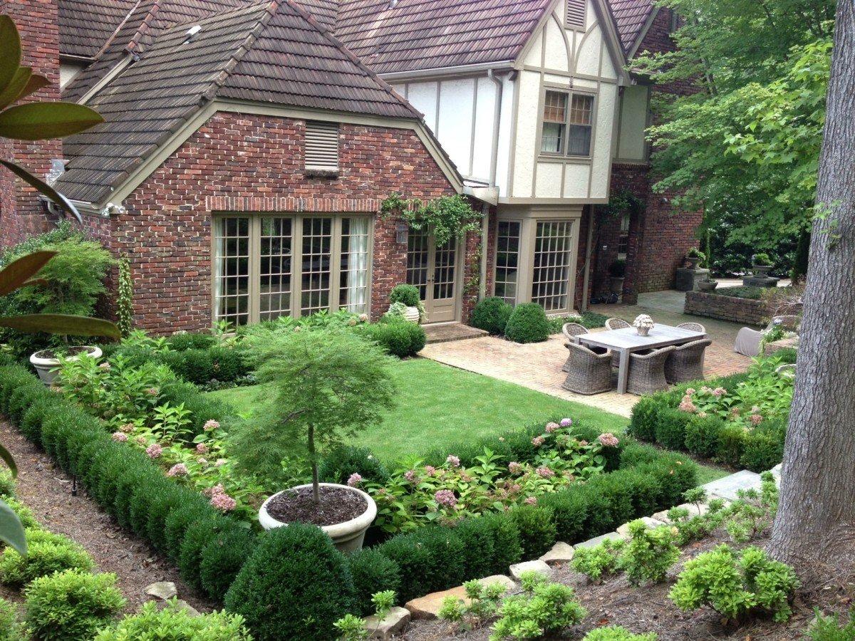 которые фотографии озеленение небольшого сада ярких